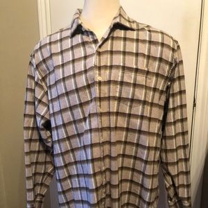 Tommy Bahama Flannel Shirt XXL plaid